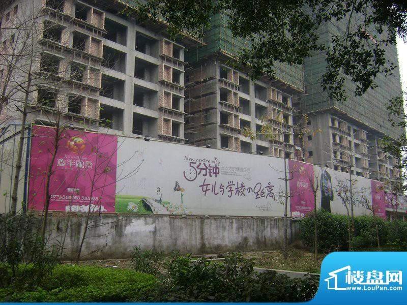 鑫丰丽景小区外墙实景20110303
