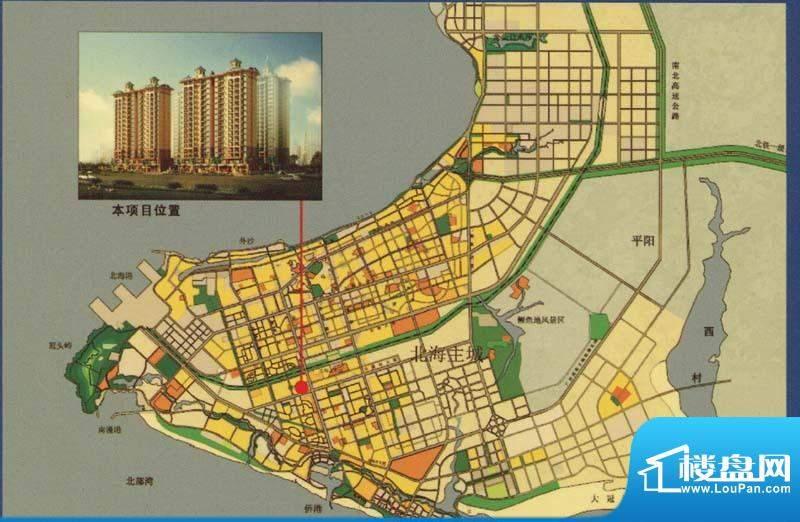 辰宸花园交通图