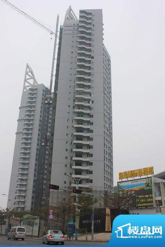 海岸国际假日花园20120221项目施工进度