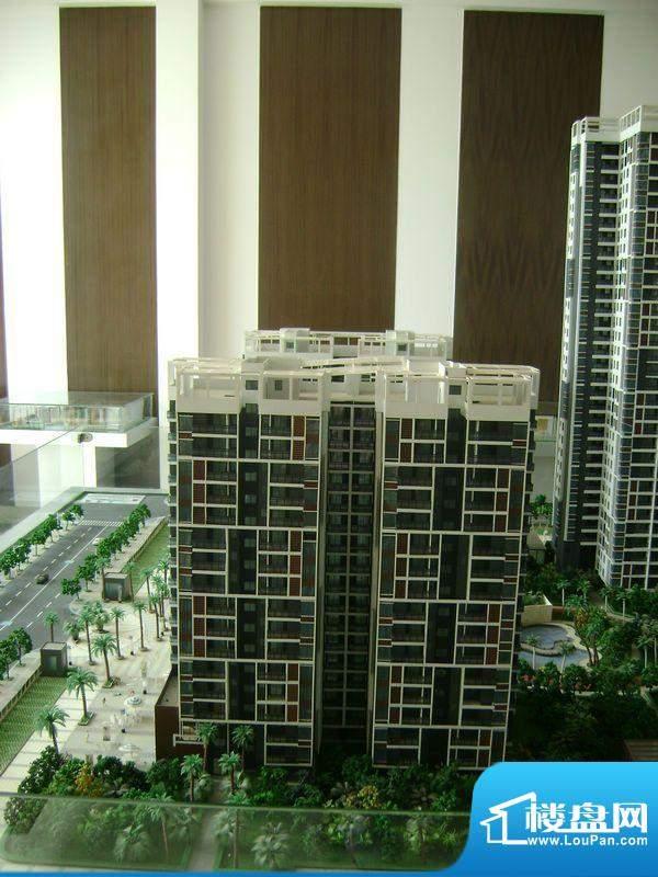 三清园项目沙盘实景图20111117