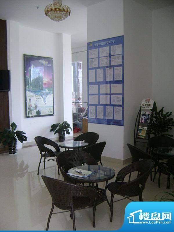 三清园项目售楼部内部实景图20111031