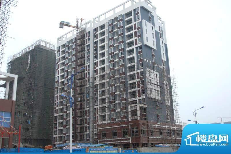 三清园小区楼盘施工全景20110219