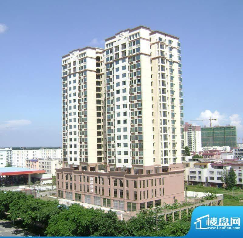 汇福·蔚蓝豪廷项目鸟瞰实景20110622
