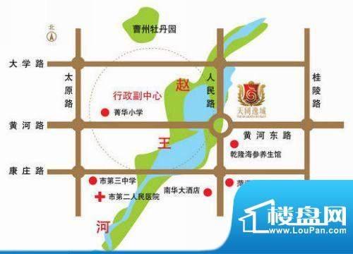 天阔逸城交通图