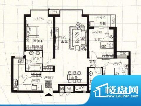 天阔逸城2室2厅2卫1面积:0.00m平米