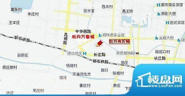 牡丹万象城交通图