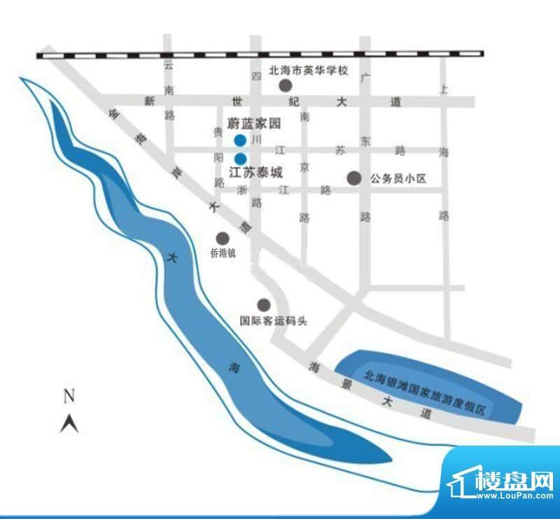 江苏泰城交通图