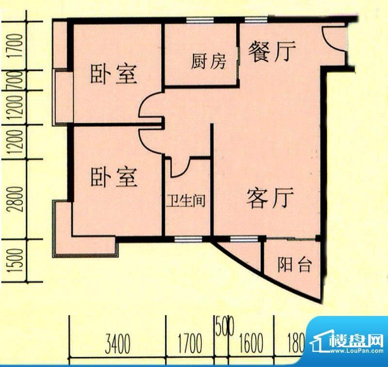 昌旭·璟苑一二单元面积:95.22m平米