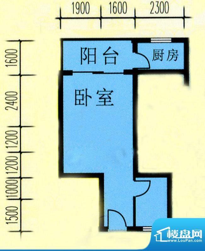 昌旭·璟苑一二单元面积:45.72m平米
