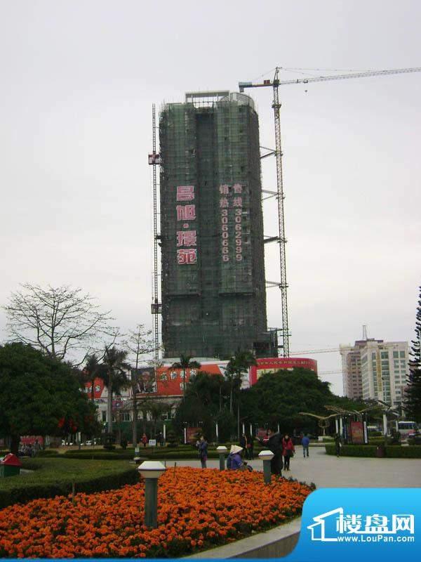 昌旭·璟苑小区东面远景20110213