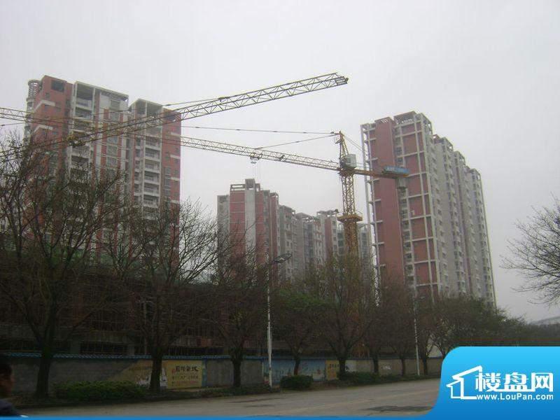 北海国际新城项目沿站前路外景图201203