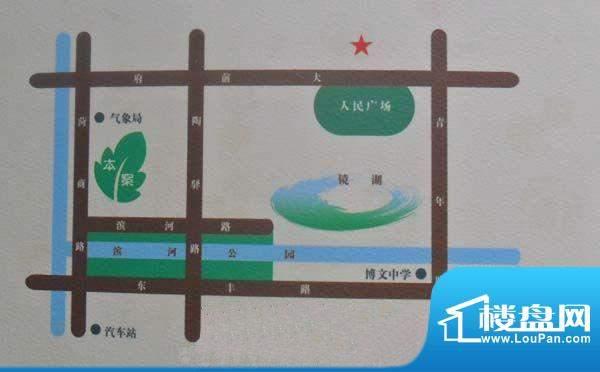 菏建·滨河春天交通图
