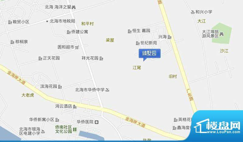 臻墅园交通图