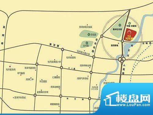 鲁商·凤凰城交通图