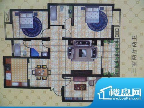 将军苑户型图2 面积:0.00m平米