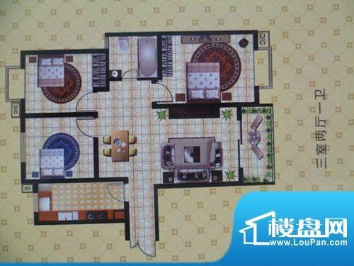 将军苑户型图3 面积:0.00m平米