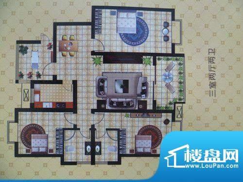 将军苑户型图4 面积:0.00m平米