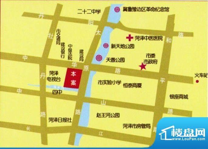 永泰·天泽园交通图