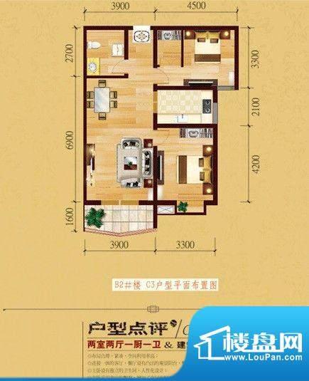 国色天香C3户型 面积:0.00m平米