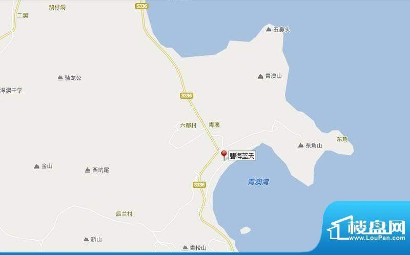 汕头碧海蓝天交通图