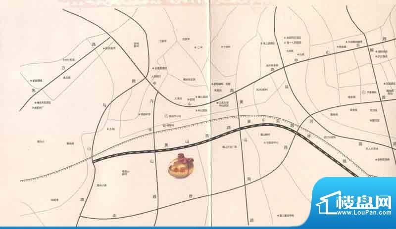 常发广场交通图