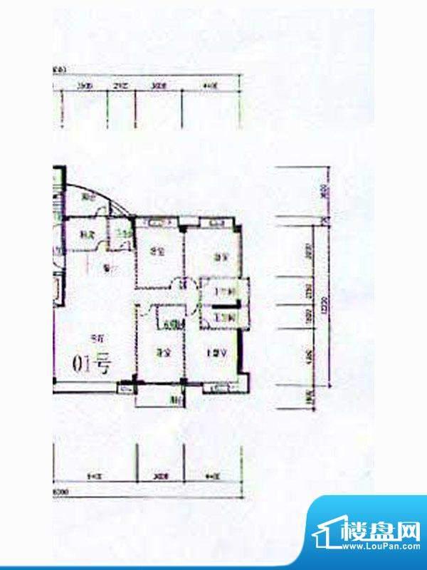 金港广场A2幢4-12层面积:203.94m平米