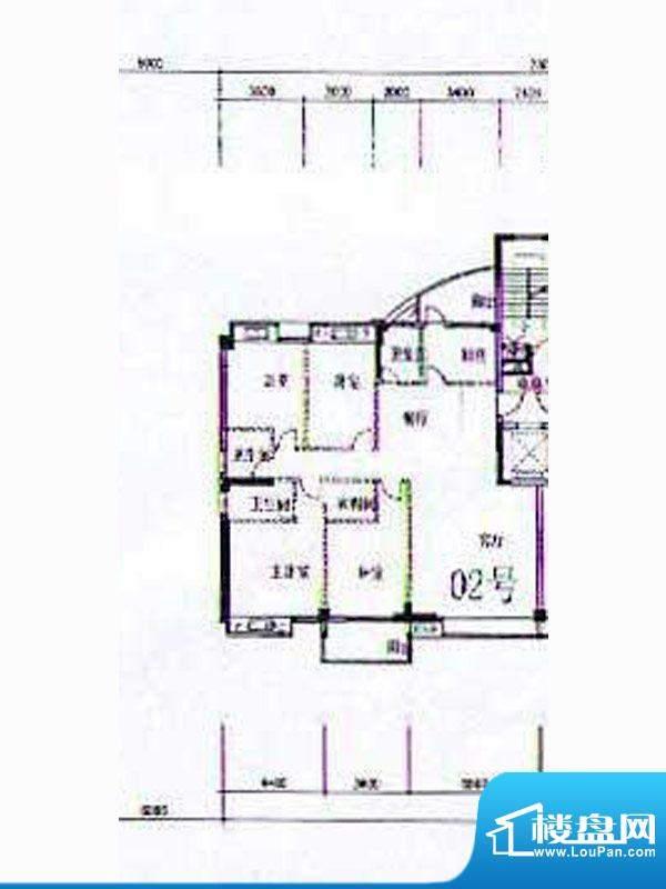 金港广场A2幢4-12层面积:187.26m平米