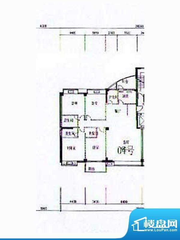 金港广场A2幢4-12层面积:230.53m平米