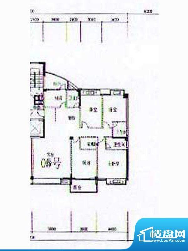 金港广场A2幢4-12层面积:187.13m平米