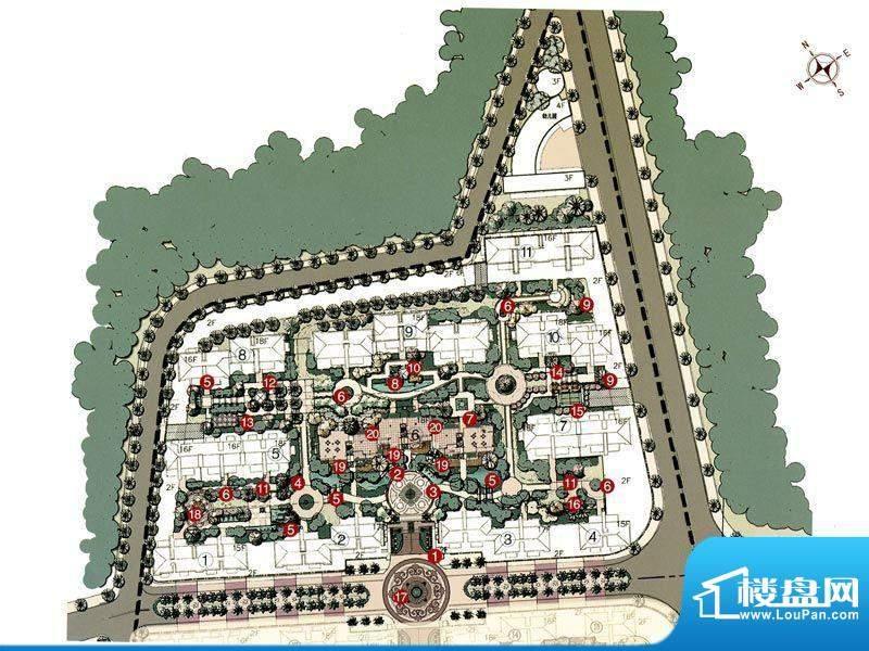 嘉盛·罗浮宫实景图