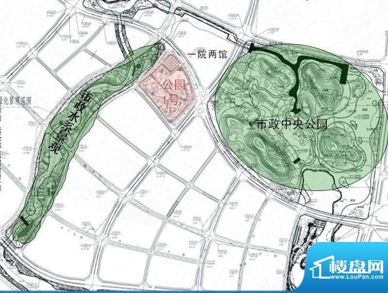 彰泰公园1号交通图