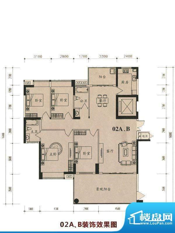 茵悦豪苑2幢2-21标准面积:183.02m平米