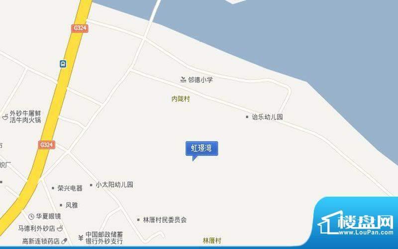 虹璟湾交通图