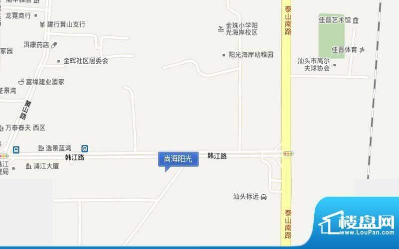 尚海阳光交通图