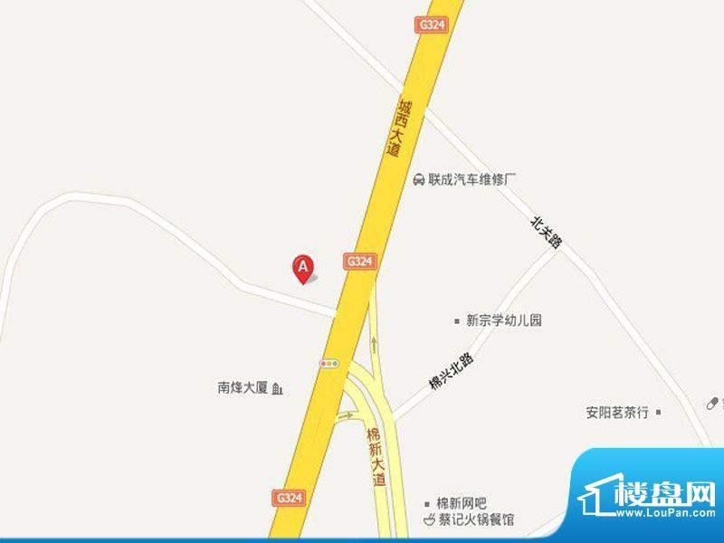 中信华庭交通图
