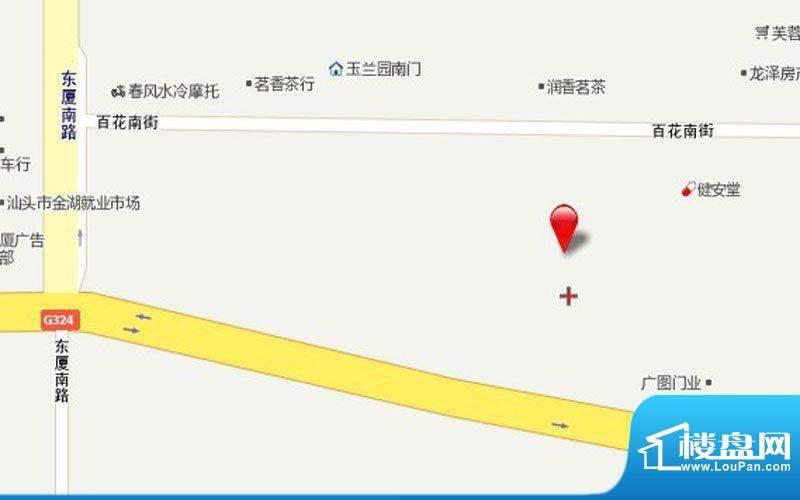 悦景东方交通图