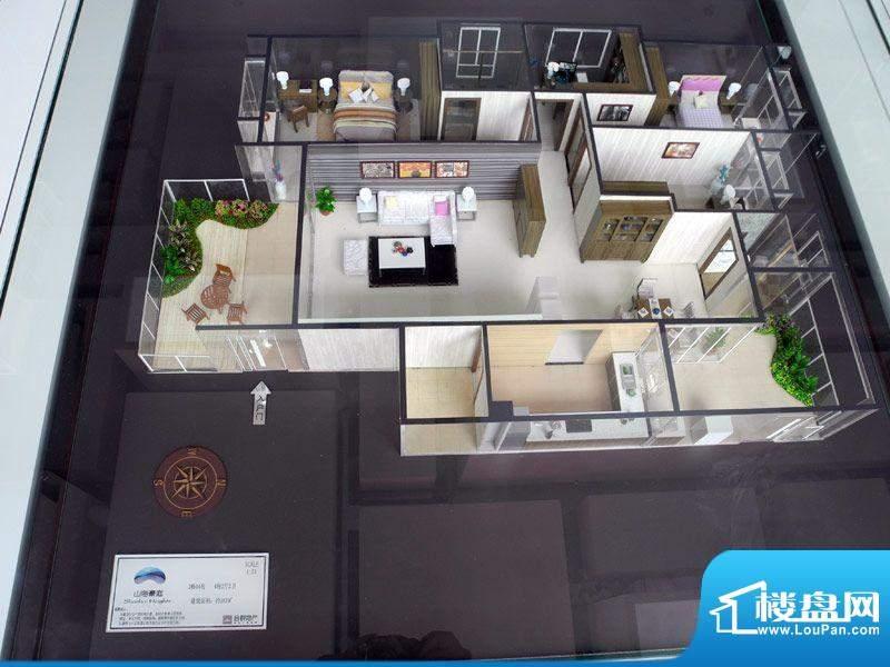 山海豪庭2幢04号房户面积:183.00m平米