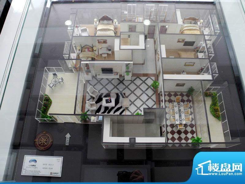 山海豪庭5幢02号房户面积:226.00m平米