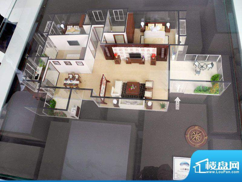 山海豪庭6幢05号房户面积:145.00m平米