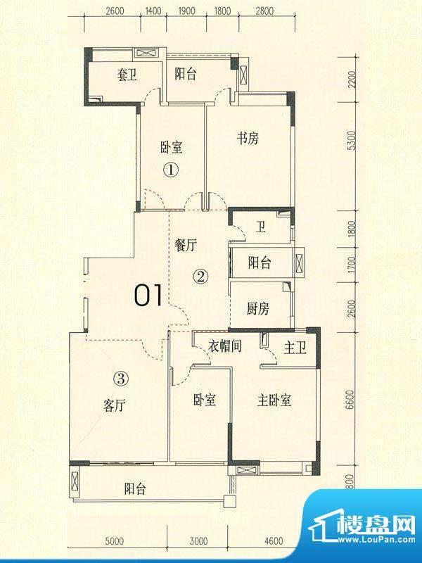 裕通花园西区14幢标面积:223.00m平米