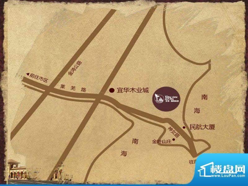海湾尚景交通图