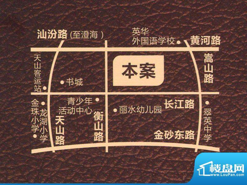 盛荟花园交通图