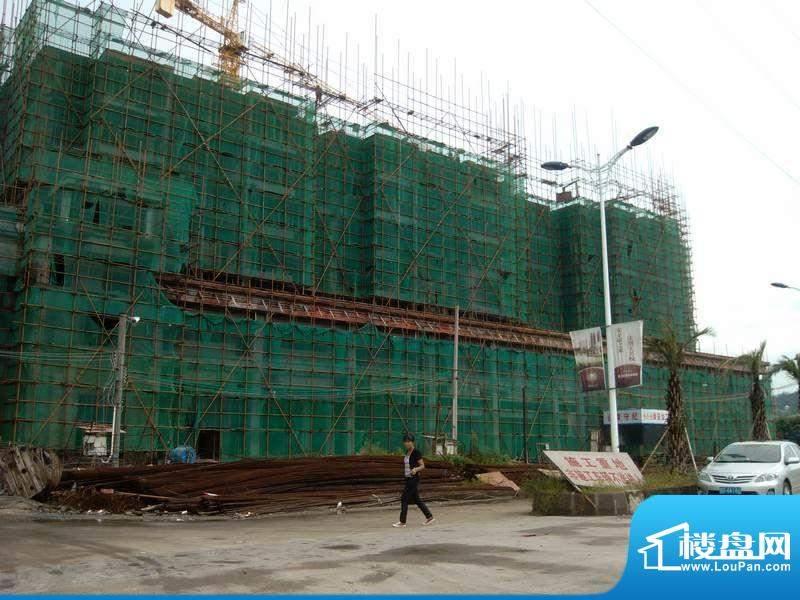 潮庭华府项目施工现场实景图(2012-8)