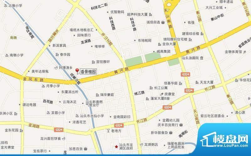 香景雅园交通图