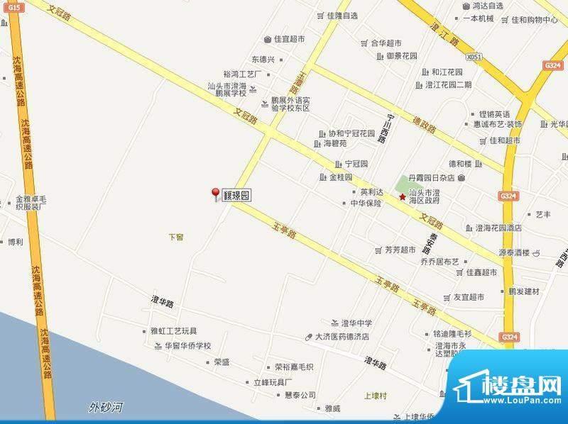 馥璟园交通图