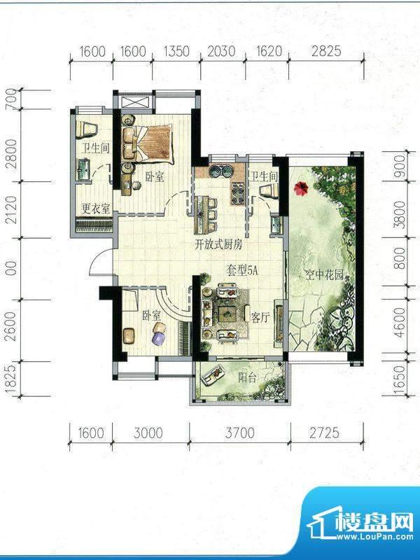 南海阁·海滨大厦05面积:101.62m平米
