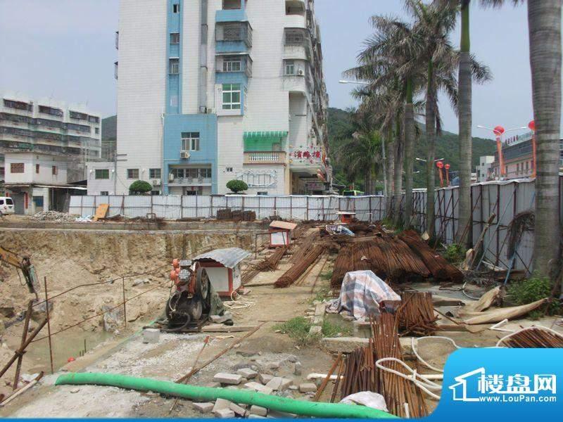 南海阁·海滨大厦项目建设实景(2012-8