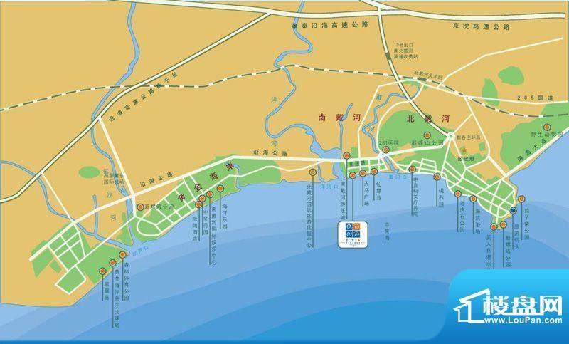 非常海交通图