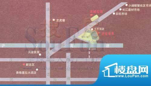 龙城福第交通图