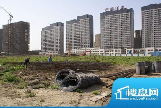 建滔裕花园施工现场(2011-04-18)